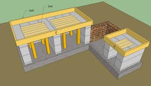 Concrete Block Building Plans Cinder Block Outdoor Kitchen 2017 With Plans How To Build Images