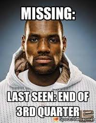 Lebron Memes - lebron james reported missing meme