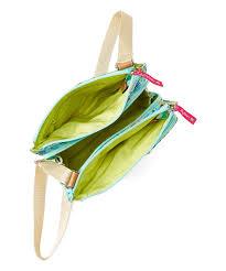 lily bloom blue u0026 white beach house regina crossbody bag zulily