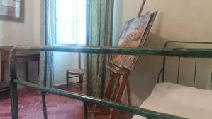 visit to st paul s mausoleum saint remy de provence seeprovence com a bedroom in a hospital