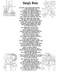 christmas carol lyrics sleigh ride noël christmas pinterest