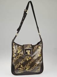 Monogram Charms Louis Vuitton Limited Edition Taupe Monogram Charms Musette Bag