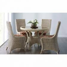 Dining Table With Rattan Chairs Dining Tables Wonderful Grey Rattan Dining Chairs Wicker Sofa
