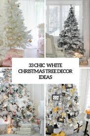 ornaments white tree ornaments chic white