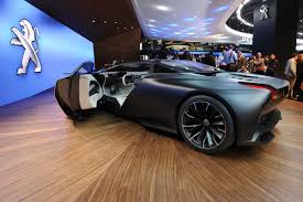 peugeot onyx peugeot onyx supercar pictures peugeot onyx supercar front three