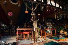 chambre rasta chambre avec des couleurs de rasta dans les caraïbe photo stock