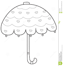 printable coloring pages of umbrella to color umbrella day cartoon