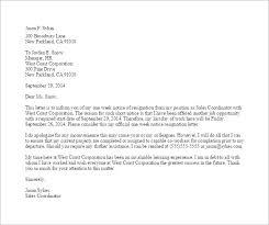 11 notice of resignation letter templates u2013 free sample example