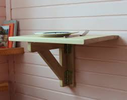 wall mounted drop leaf tables coffee and side by goodmoodwoods