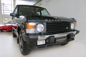 green range rover 1995 range rover classic ardennes green classic throttle shop