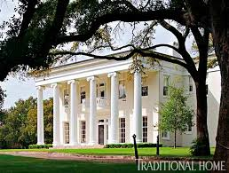 greek revival style house historic family home traditional home