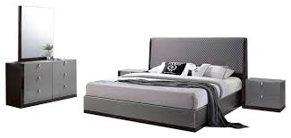 sorrento modern bedroom set contemporary bedroom furniture