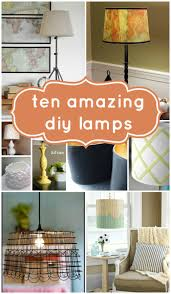 top 10 beautiful diy lamps and link party construction haven