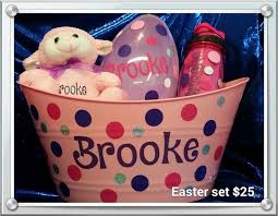 personalized easter baskets for toddlers 1000 images about easter baskets on easter baskets