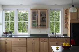 Light Birch Kitchen Cabinets Birch Ideas Kitchen Contemporary With Stainless Steel Range
