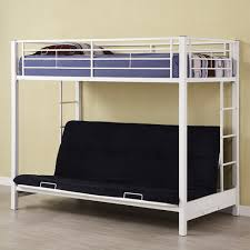 White Futon Bunk Bed Futon Premium Metal Bunk Bed White Rooms