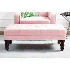 Vintage Tufted Sofa by Novogratz Vintage Tufted Ottoman Mutliple Colors Walmart Com