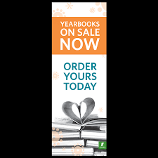 buy yearbooks yearbook sale vertical banner yearbook discoveries