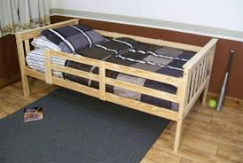 Safety Rail For Bunk Bed Versaloft Bed With Safety Rails From Dutchcrafters Amish