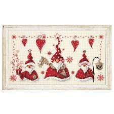 gnomes cross stitch needlepoint stitchery and