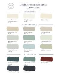 accent colors how to bring modern farmhouse style to your home part 2 color
