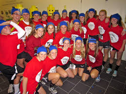 Softball Halloween Costumes Teams Participate Freaky 5k Charity Fun Run Mules