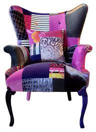 canapé original coloré squint purple patchwork chaise canapé fauteuils et