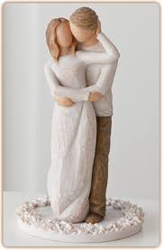 willow tree together cake topper by demdaco at hooked on ornaments