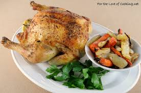roasted chicken with carrots fennel and onion for the love of