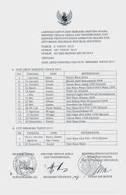 kmhdi ntt surat libur hindu tahun 2014