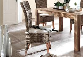 rattan kitchen furniture wicker dining room chairs home design image of wicker dining