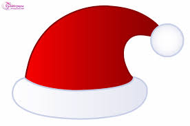 santa hat clipart animated pencil and in color santa hat clipart