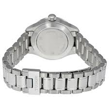 tudor style silver dial automatic ladies watch 12110 svss style