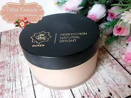 Bedak Viva potted pinkyrose review viva perfection bright