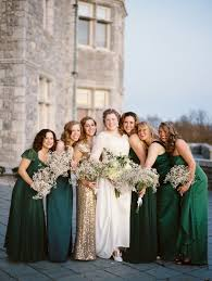 and green wedding dresses 19 bridal who perfected the mismatched dress trend huffpost