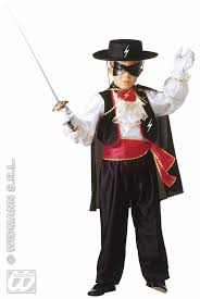 zorro halloween carnival costumes children equestrian zorro fancy dress