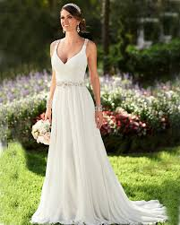 summer wedding dresses summer wedding dress neck ivory chiffon wedding