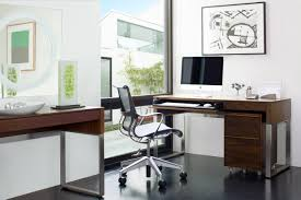 Modern Laptop Desk by Cascadia Console Desk 6202 Bdi Designer Tv Stands And Cabinets