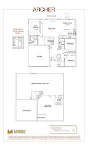 archer floor plan legacy homes omaha and lincoln floorplans