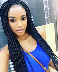 mzansi new braid hair stylish 7 mzansi celebs who rock braids the edge search