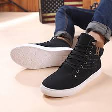 Sho Bsy fheaven fashion mens oxfords casual high ankle top
