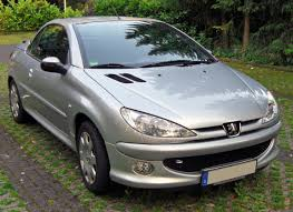 used peugeot 206 cc file peugeot 206 cc 20090612 front jpg wikimedia commons