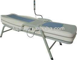 best heated massage table korea alike 6018x massage bed with jade far infrared rollers buy
