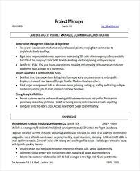 Project Manager Resume Template Download by Finance Manager Resume Example Attractive Areas Of Excellence