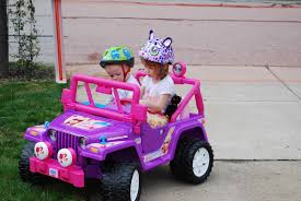 purple barbie jeep the rooney clan