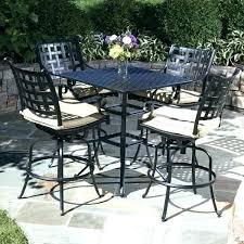 high top patio table and chairs bar height pub table sets patio furniture bar height bistro set