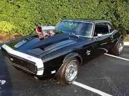chevy 68 camaro 1968 chevrolet camaro rs ss rod