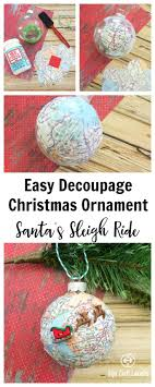 921 best tis the season decoupage ornaments images on