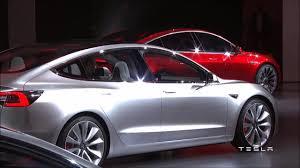 tesla model 3 unveiled stunning exterior interior panorama