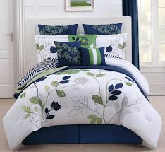 Green And White Duvet Blue And White Duvet Covers Queen Home Design Ideas